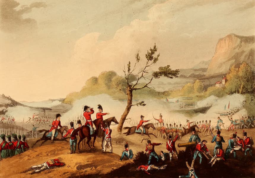 The Martial Achievements of Great Britain - Battle of Maida - July 4th 1806 (1815)