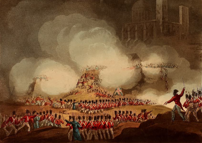 The Martial Achievements of Great Britain - Storming of Monte Video - Feb 3rd 1807 (1815)