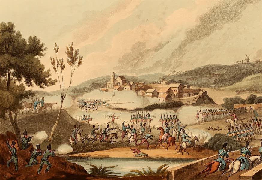 The Martial Achievements of Great Britain - Battle of Vimiera - Aug 21st 1808 (1815)