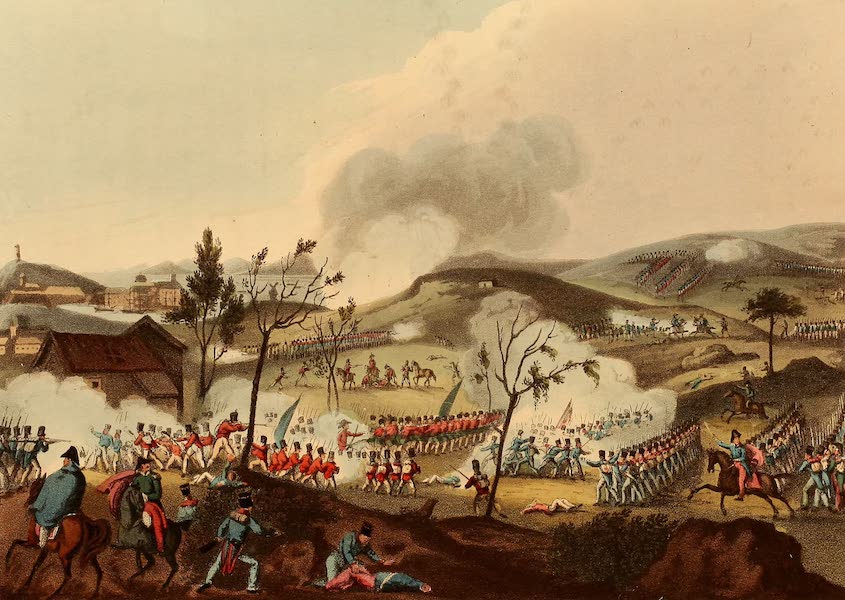 The Martial Achievements of Great Britain - Battle of Corunna, Jan 17th 1809 (1815)