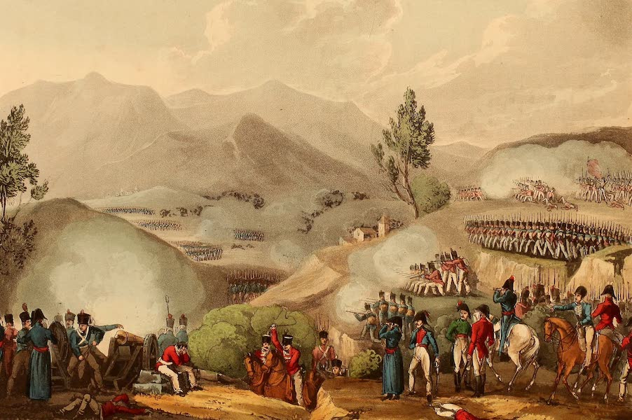 The Martial Achievements of Great Britain - Battle of Salamonda - May 16th 1809 (1815)