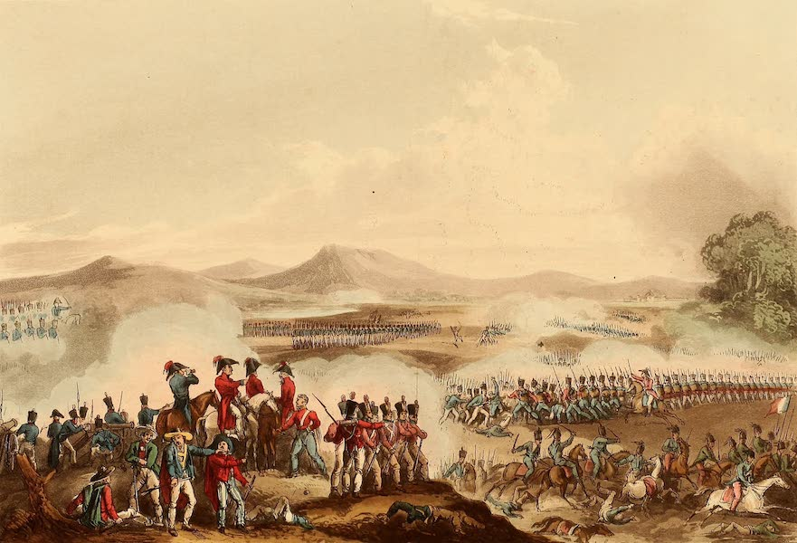 The Martial Achievements of Great Britain - Battle of Talavera, July 28th 1809 (1815)