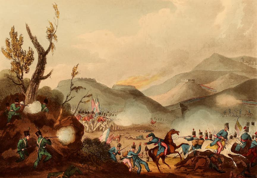 The Martial Achievements of Great Britain - Battle of Busaco - Sept 27th 1810 (1815)