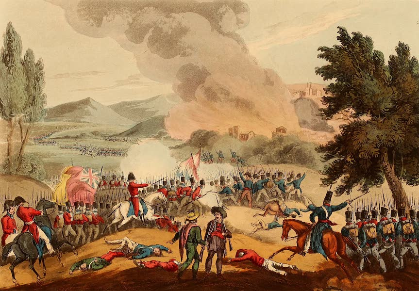 The Martial Achievements of Great Britain - Battle of Pombal - March 12th 1811 (1815)