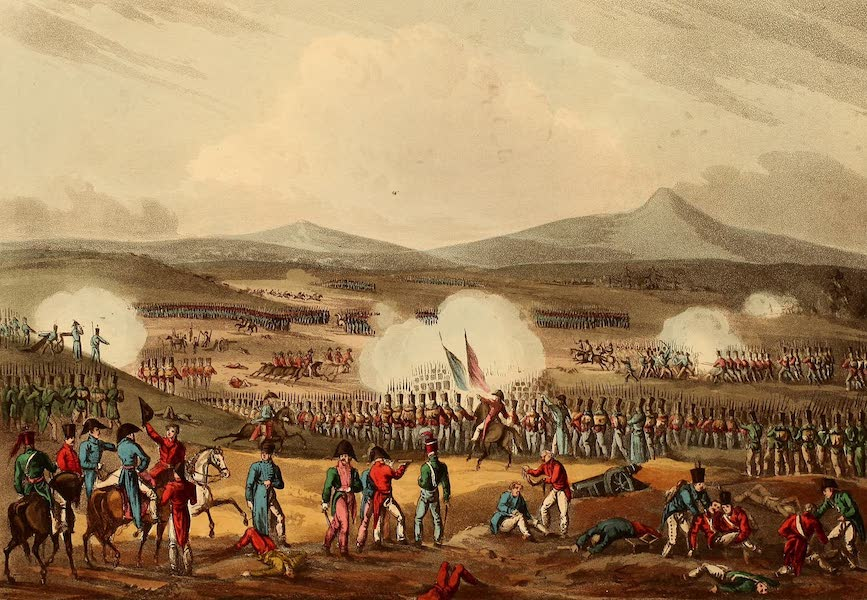 The Martial Achievements of Great Britain - Battle of Fuentes d'Onoro - May 5th 1811 (1815)