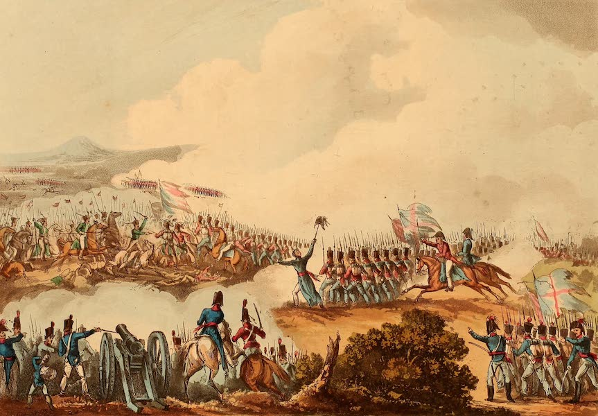 The Martial Achievements of Great Britain - Battle of Albuera - May 16th 1811 (1815)