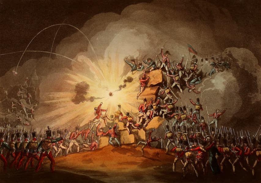 The Martial Achievements of Great Britain - Storming of Cuidad Rodrigo, Jan 19th 1813 (1815)