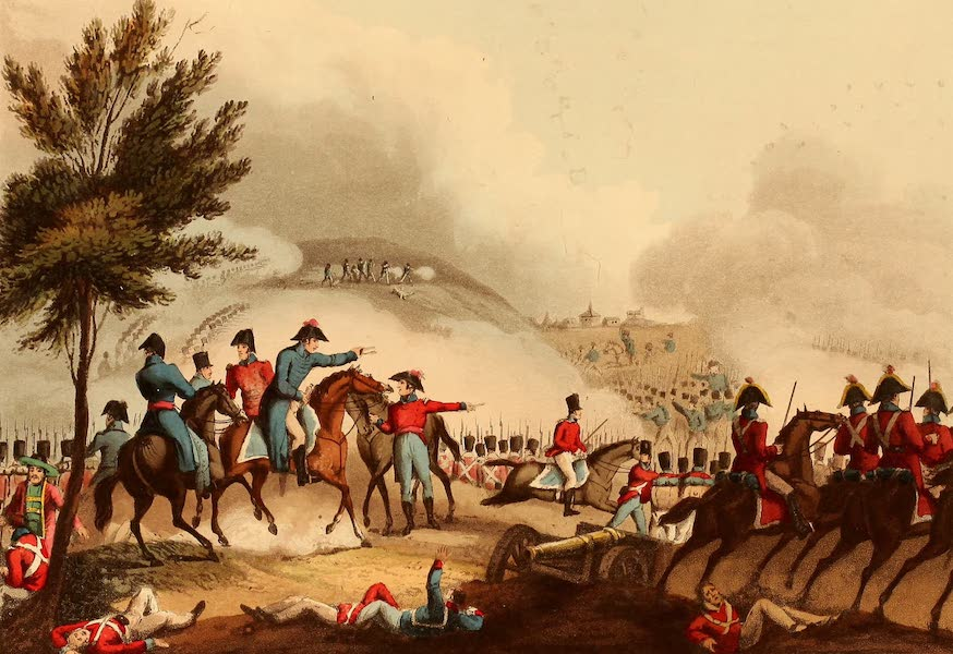 The Martial Achievements of Great Britain - Battle of Salamanca, July 22nd 1812 (1815)