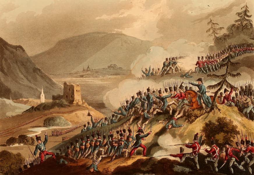 The Martial Achievements of Great Britain - Battle of Castalla, April 13th 1813 (1815)
