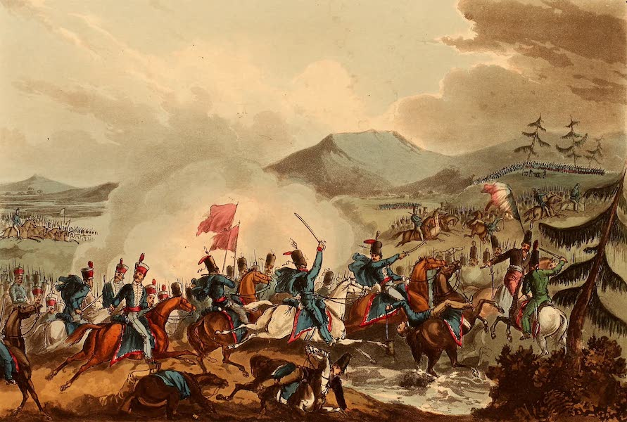 The Martial Achievements of Great Britain - Battle of Morales - June 2nd 1813 (1815)