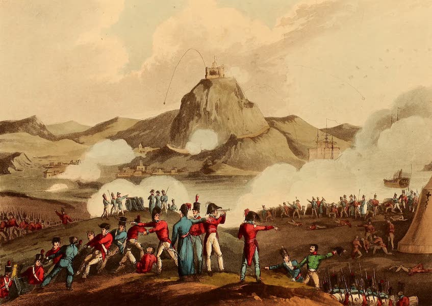 The Martial Achievements of Great Britain - Siege of St. Sebastian - July, 1813 (1815)