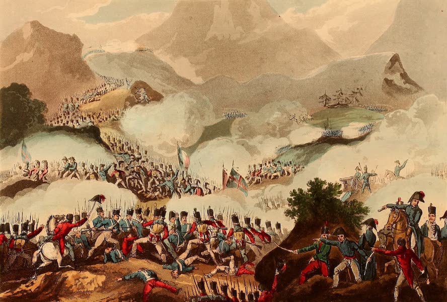 The Martial Achievements of Great Britain - Battle of the Pyrenees, July 28th 1813 (1815)