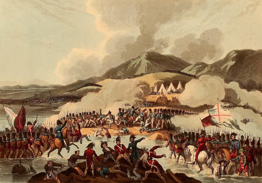 The Martial Achievements of Great Britain - Battle of Bidassoa - Oct 9th 1813 (1815)