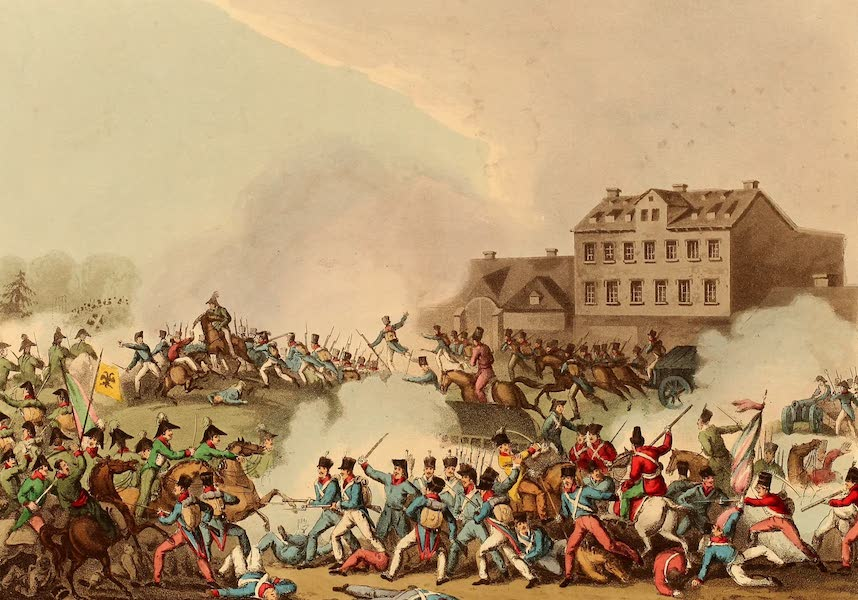 The Martial Achievements of Great Britain - Battle of Leipsic, Oct 19th 1813 (1815)