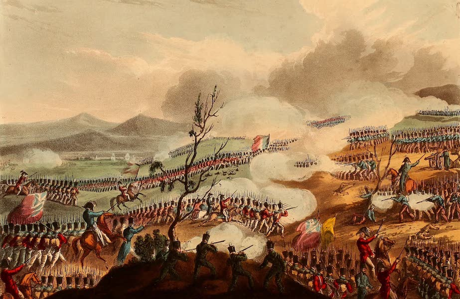 The Martial Achievements of Great Britain - Battle of Nivelle - Nov 10th 1813 (1815)