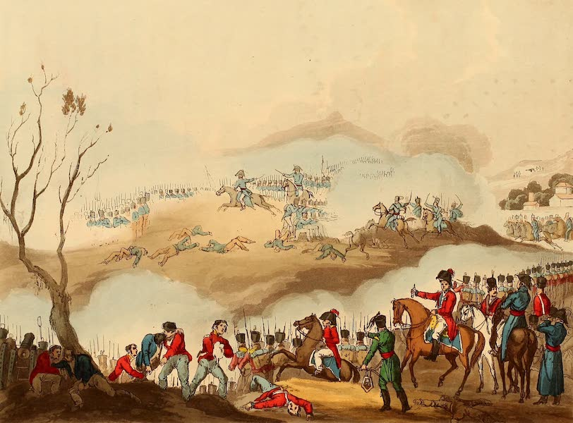 The Martial Achievements of Great Britain - Battle of Orthes, Feb 27th 1814 (1815)