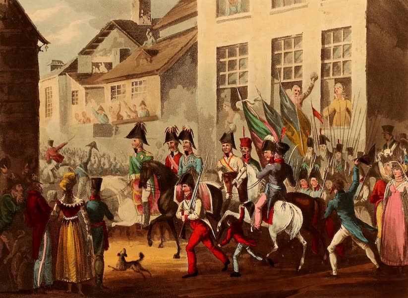 The Martial Achievements of Great Britain - Entrance of the Allies into Paris - March 31st 1814 (1815)