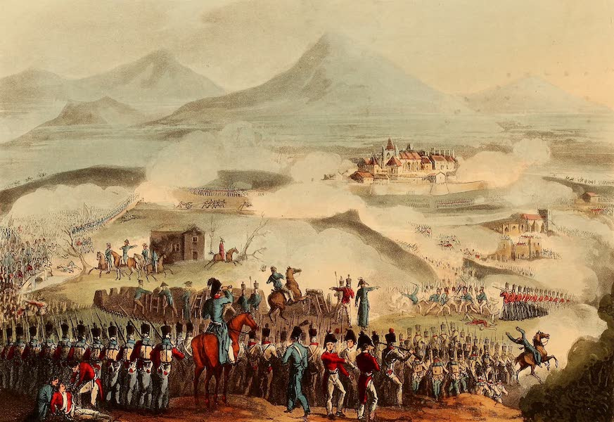 The Martial Achievements of Great Britain - Battle of Toulouse - April 10th 1814 (1815)