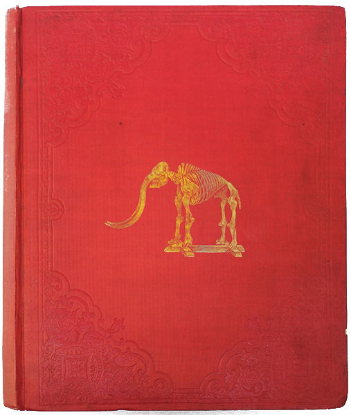 The Mastodon Giganteus of North America - Front Cover (1852)