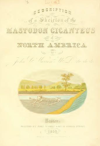 Biodiversity Heritage Library - The Mastodon Giganteus of North America