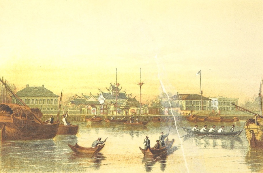 The Medical Missionary in China - Centre of the Bund, Shanghai (1861)