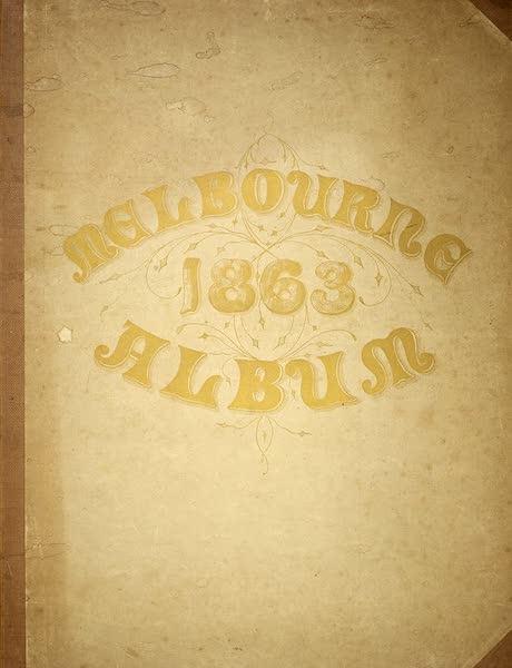 The Melbourne Album - Front Cover (1864)