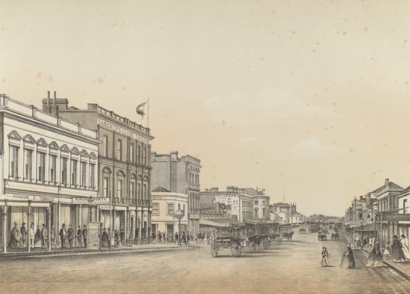 The Melbourne Album - Swanson Street (1863) (1864)