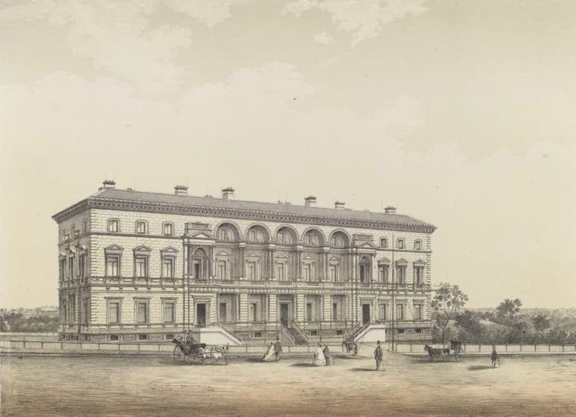 The Melbourne Album - Treasury Buildings (1863) (1864)