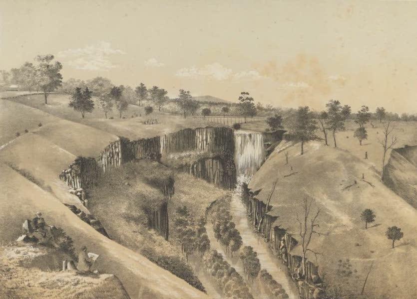 The Melbourne Album - The Lal Lal Falls, near Ballarat (1863) (1864)