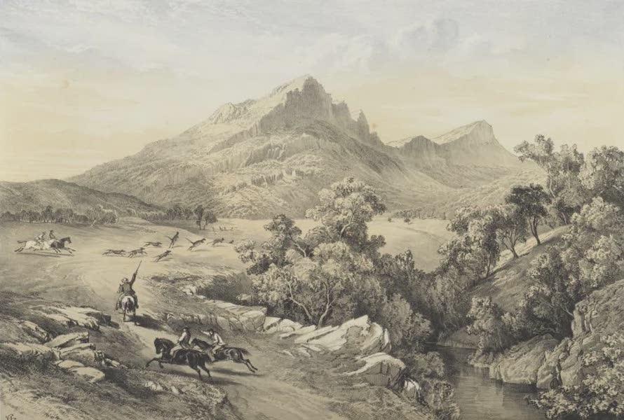 The Melbourne Album - Mount Abrupt and the Grampians (1864) (1864)