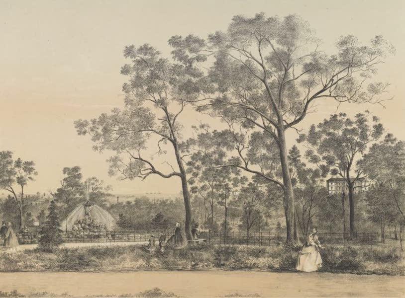 The Melbourne Album - Fitzroy Gardens (1863) (1864)
