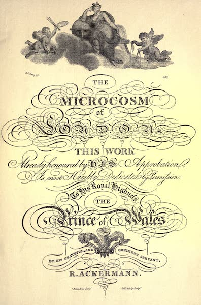 Microcosm of London Vol. 2 - Dedication (1904)