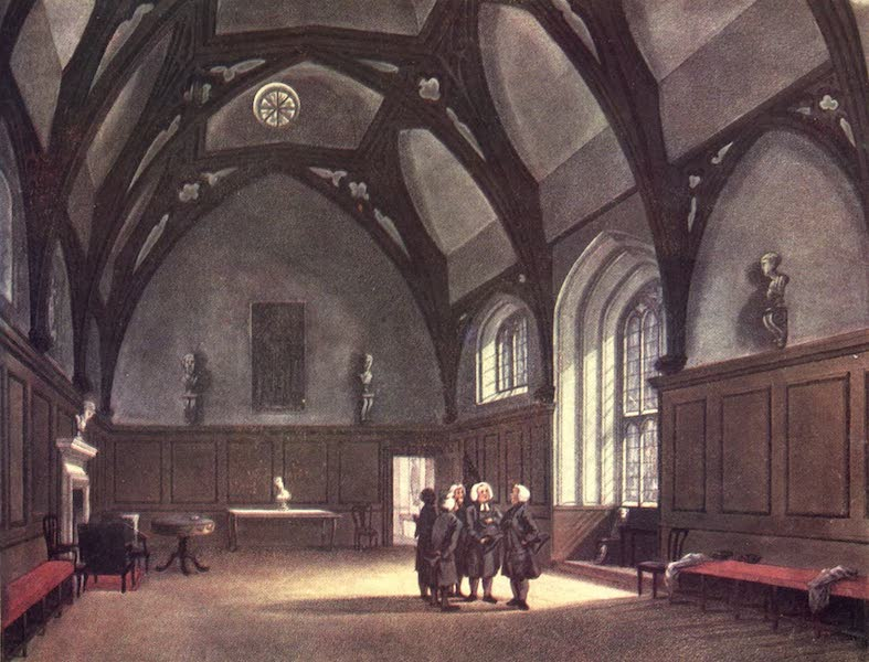 Microcosm of London Vol. 2 - 16. The Roman Catholic Chapel (Lincoln Inn Fields). (1904)