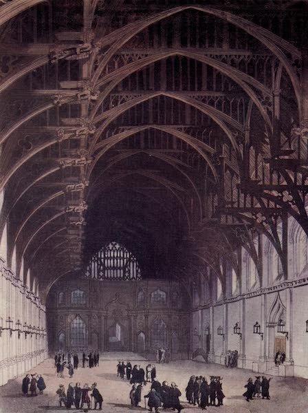 Microcosm of London Vol. 3 - 94. Westminster Hall. (1904)