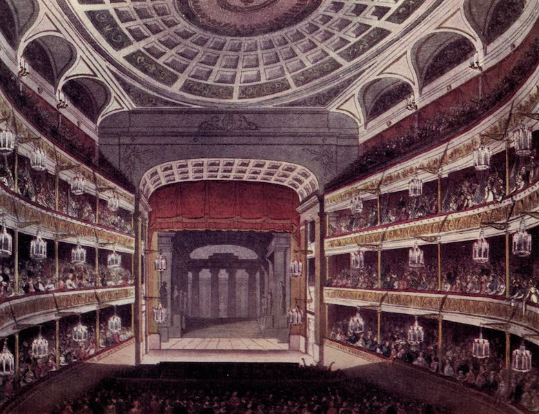 Microcosm of London Vol. 3 - 100. New Covent Garden Theatre. (1904)
