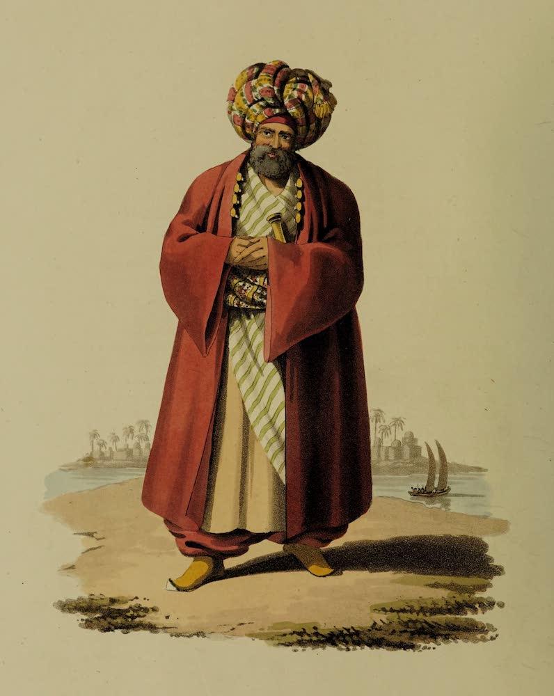 The Military Costume of Turkey - Pacha (1818)