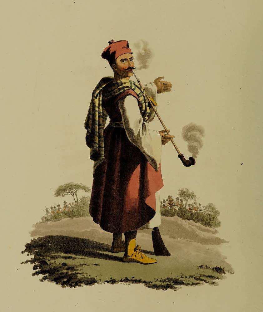 The Military Costume of Turkey - Janissary No. 2 (1818)