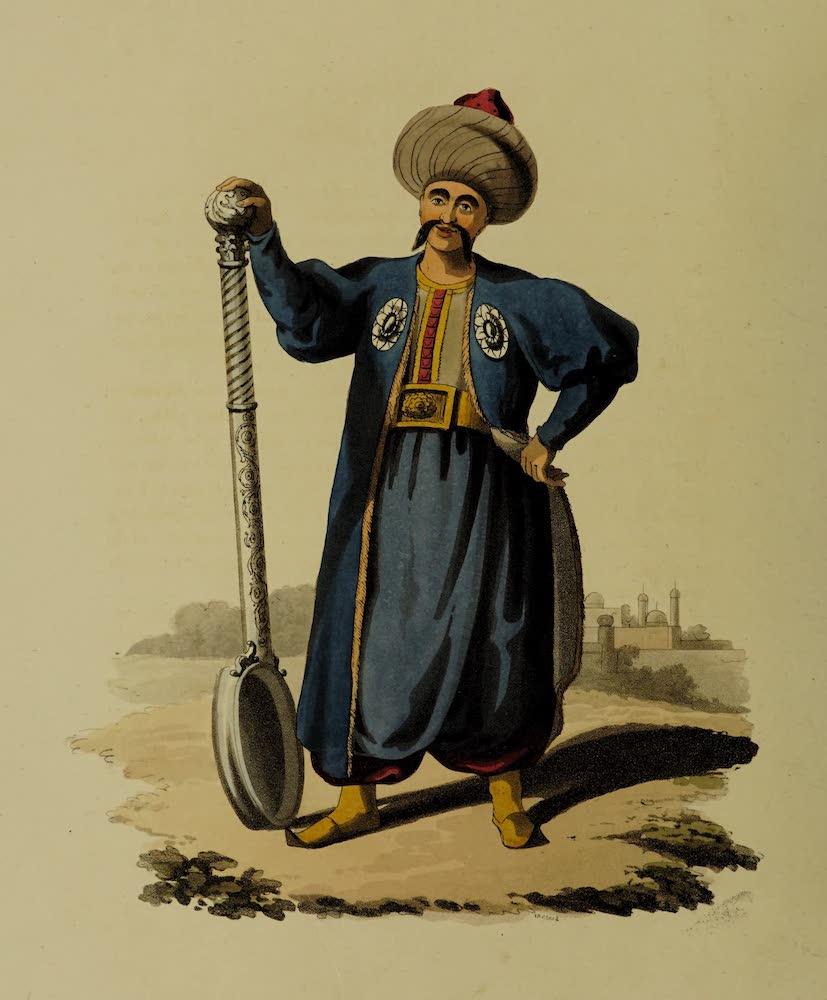 The Military Costume of Turkey - Ladle Bearer (1818)
