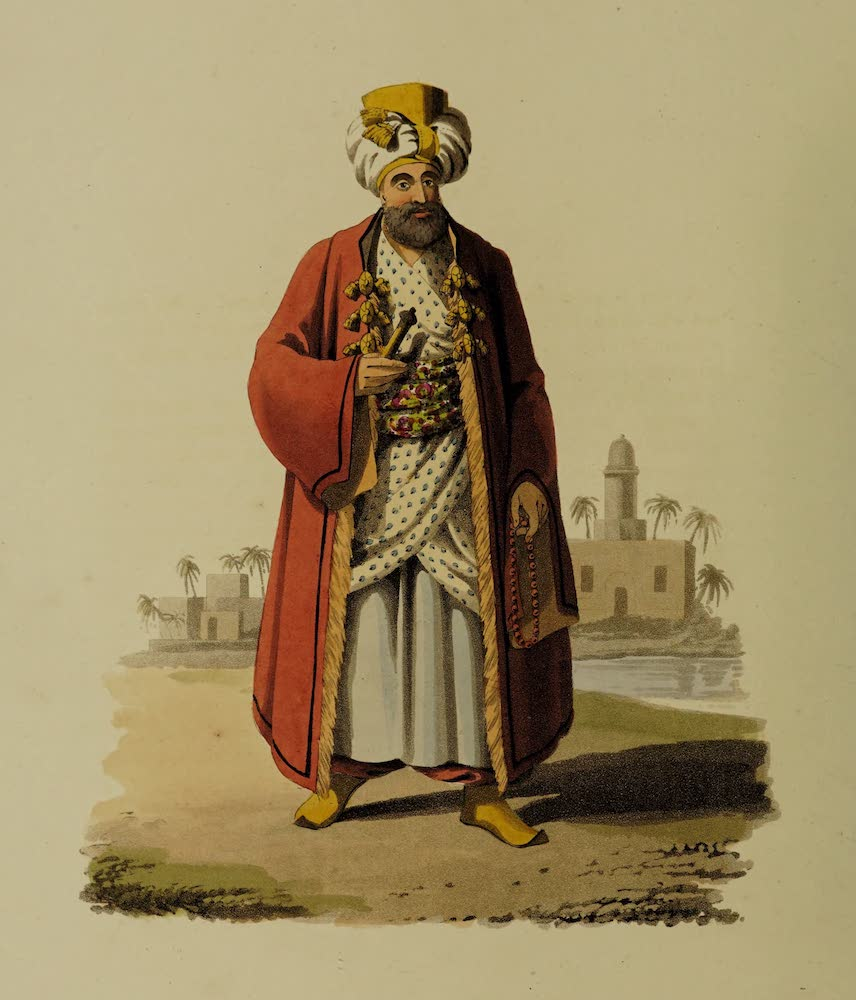 The Military Costume of Turkey - Bey (1818)