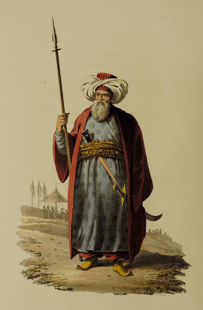 The Military Costume of Turkey - Mameluke Officer (1818)