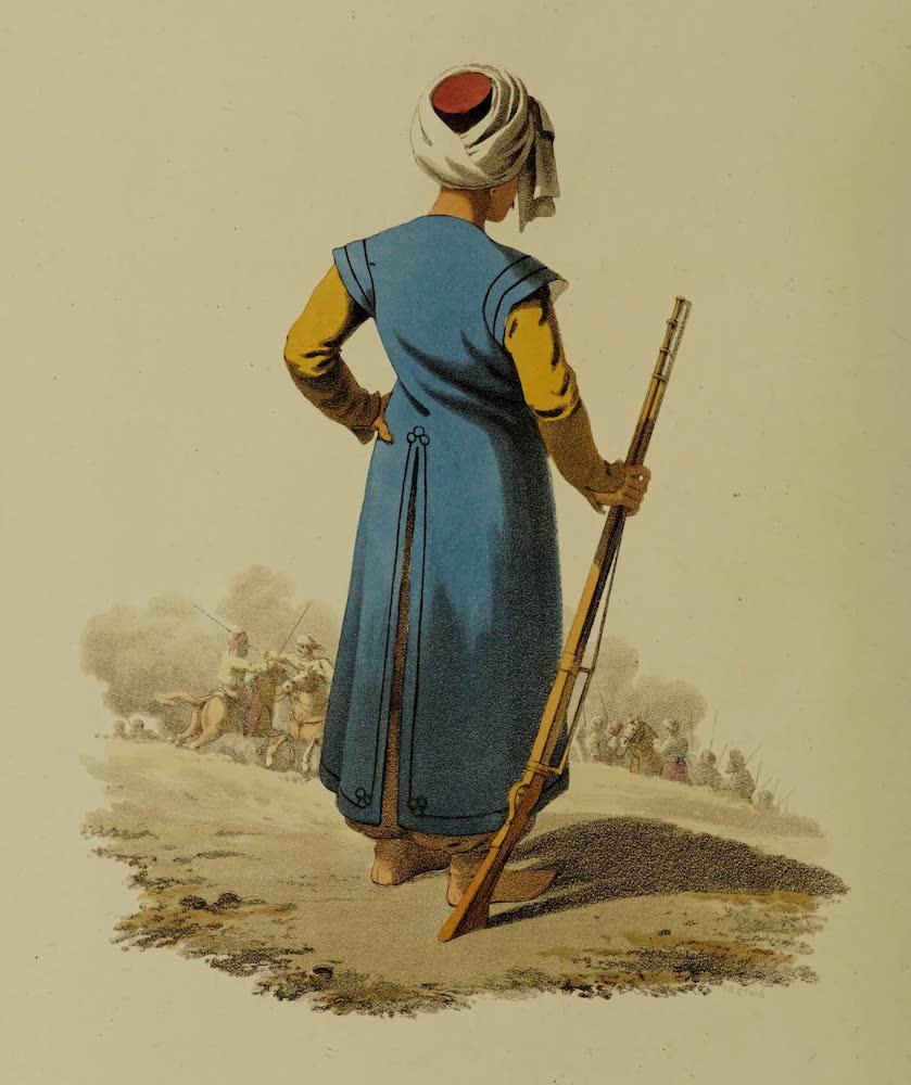 The Military Costume of Turkey - Mameluke of Constantinople (1818)