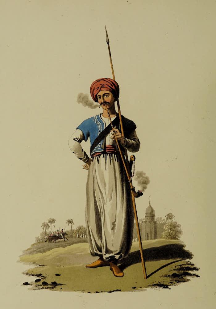 The Military Costume of Turkey - Mameluke of the Grand Seignior (1818)