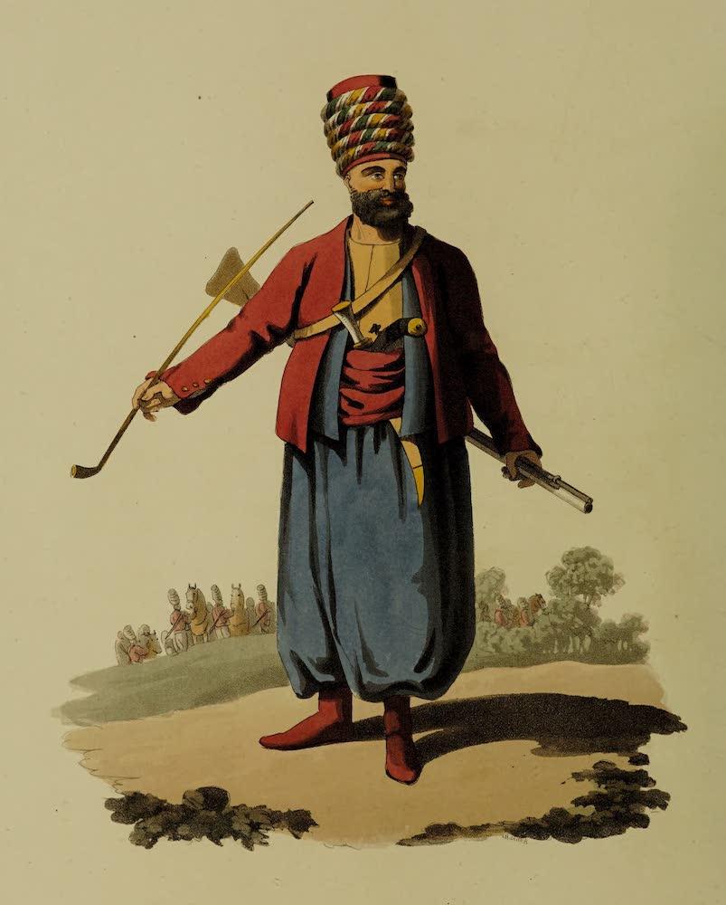 The Military Costume of Turkey - Spahi (1818)