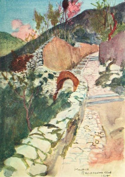 The Naples Riviera - Road near Castellamare (1908)