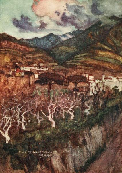 The Naples Riviera - Monte Faito, Castellamare (1908)