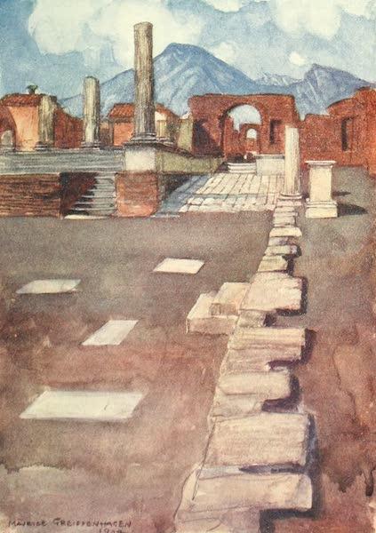 The Naples Riviera - The Forum, Pompeii (1908)
