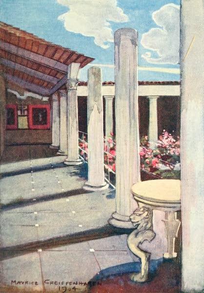 The Naples Riviera - La Casa dei Vettii, Pompeii (1908)