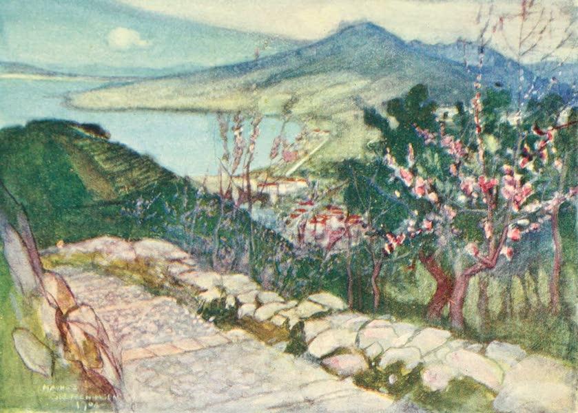 The Naples Riviera - Vesuvius and the Bay of Naples (1908)