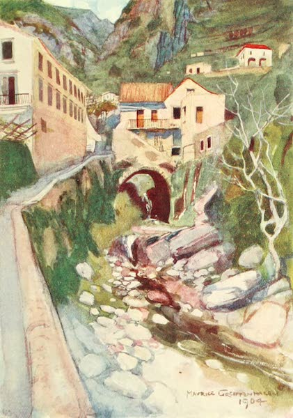 The Naples Riviera - In the Valley of the Mills, Amalfi (1908)