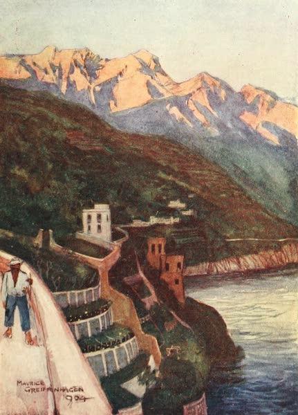 The Naples Riviera - Minori at Sunset (1908)